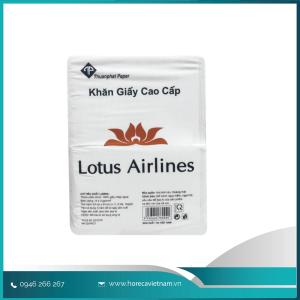 Khăn giấy vuông Lotus Airline 1kg