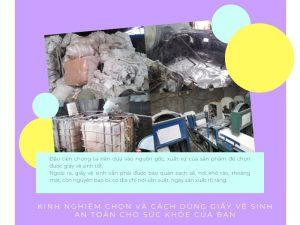 Kinh nghiệm lựa chọn giấy vệ sinh an toàn cho sức khỏe